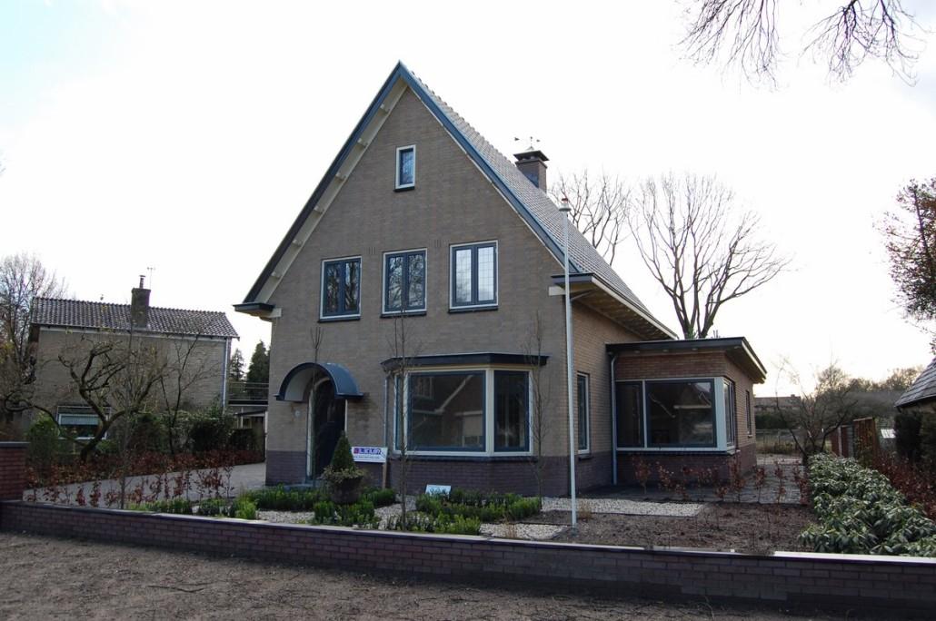 Verbouwing en renovatie van woning in lunteren bouwen in stijl - Oude huis renovatie ...