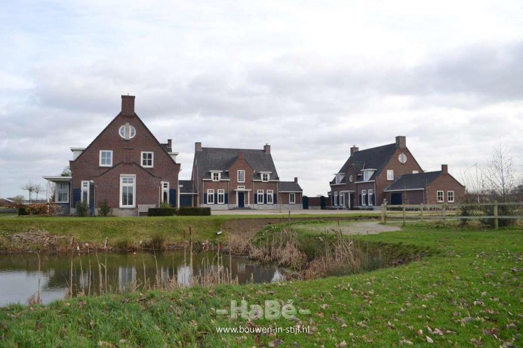 bouwen statige landhuizen in landelijke stijl bouwen in