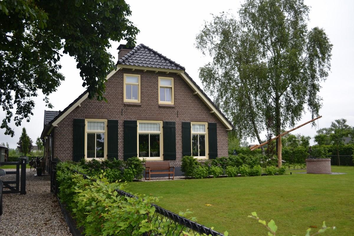 restauratie van woonboerderij in ederveen bouwen in stijl