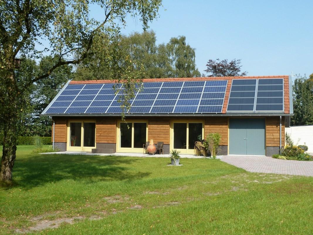 Verbouwing van schuur naar passief kantoorgebouw in for Energieneutraal bouwen