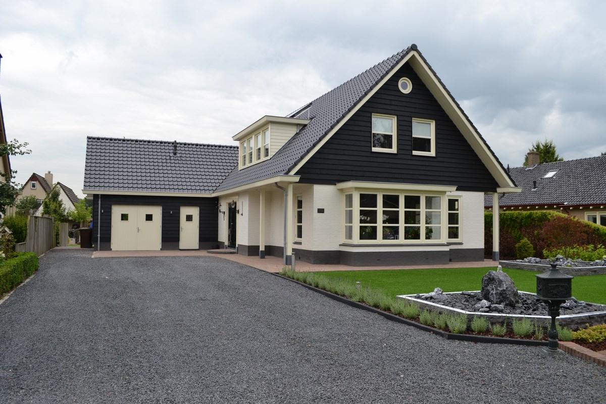 verbouwing van woonhuis in lunteren bouwen in stijl