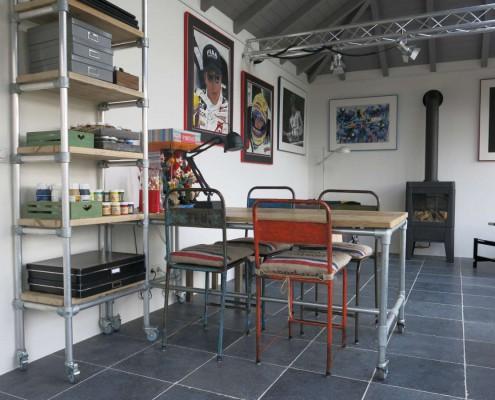 Aanbouw van tuinkamer atelier in ederveen hab bouwen in stijl - Schorsing stijl atelier ...