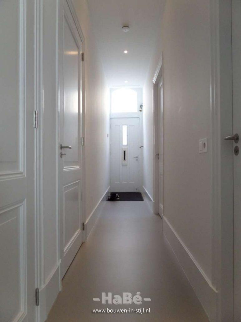 Aan en verbouw appartement in amsterdam hab bouwen for Plafond logic