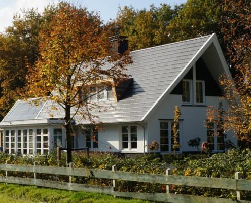 Moderne stijl hab bouwen in stijl - Veranda modern huis ...