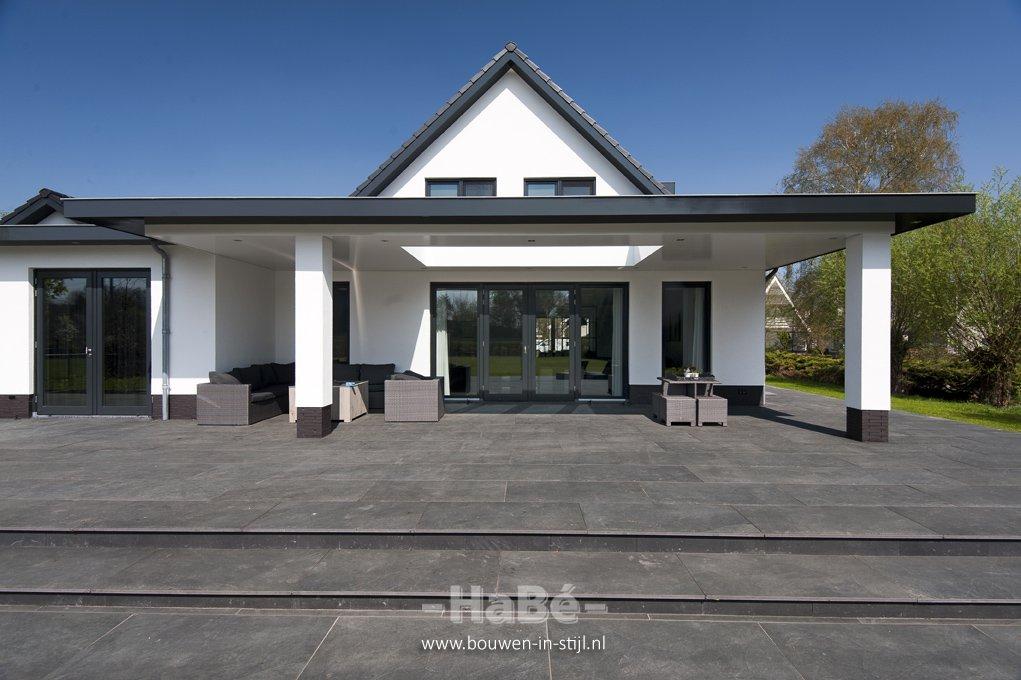 Strakke villa met royale veranda te veenendaal habé bouwen in