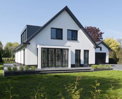 Moderne Woning Bouwen : Projecten habé bouwen in stijl