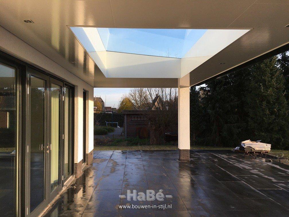 Strakke vrijstaande villa te veenendaal hab bouwen in stijl - Te vergroten zijn huis met een veranda ...