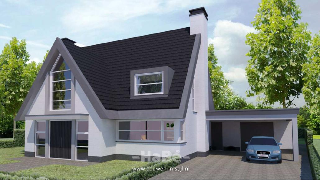 Nieuwbouw vrijstaande woning te doorn hab bouwen in stijl for Bouwkavels gelderland vrijstaand