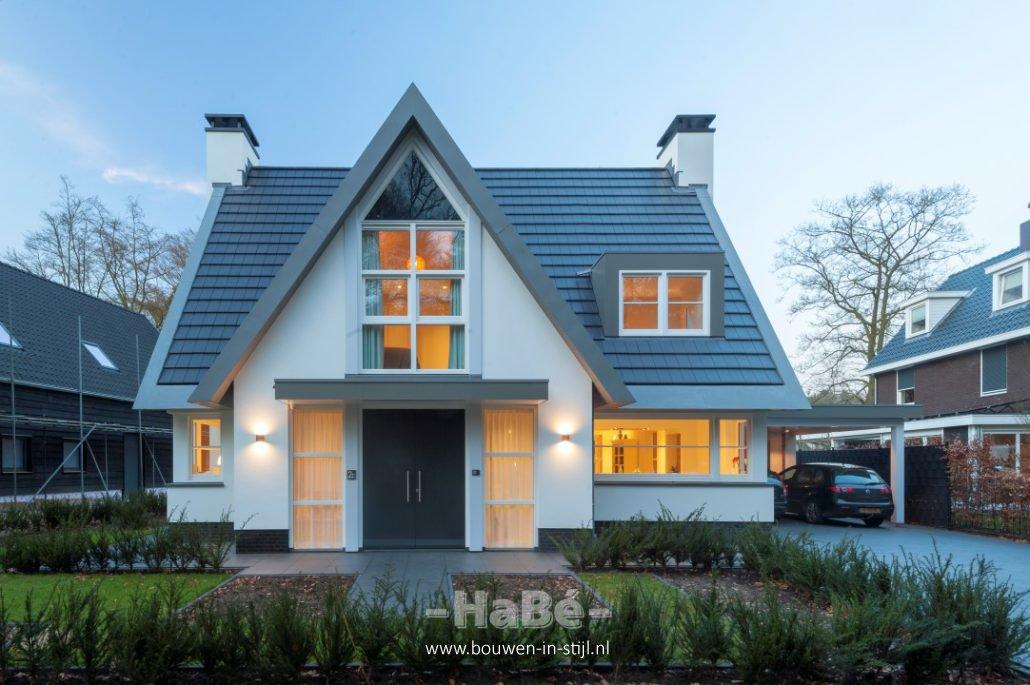 Eigentijdse vrijstaande woning te doorn hab bouwen in for Prijzen nieuwbouw vrijstaande woning