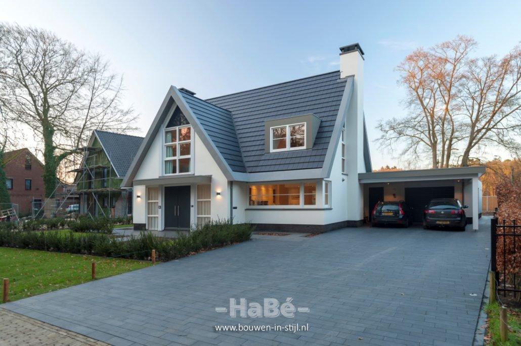 Eigentijdse vrijstaande woning te doorn habé bouwen in stijl