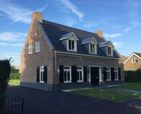 Vrijstaand Huis Bouwen : Landelijk bouwen habé bouwen in stijl