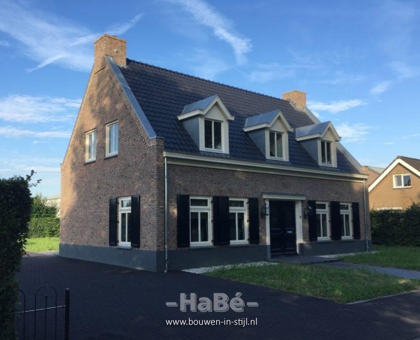 Nieuwbouw woonhuis in ophemert hab bouwen in stijl for Bouwkosten huis