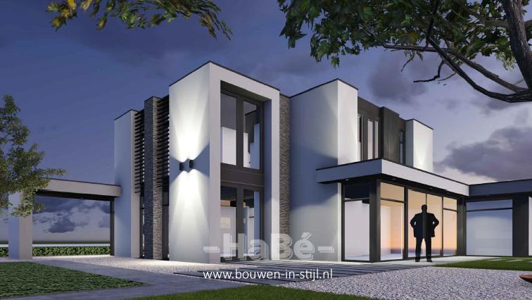 Nieuwbouw vrijstaande woning te ede hab bouwen in stijl for Prijzen nieuwbouw vrijstaande woning