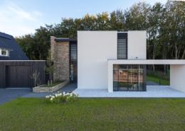 Realisatie riante veranda in lunteren hab bouwen in stijl for Vrijstaand huis laten bouwen