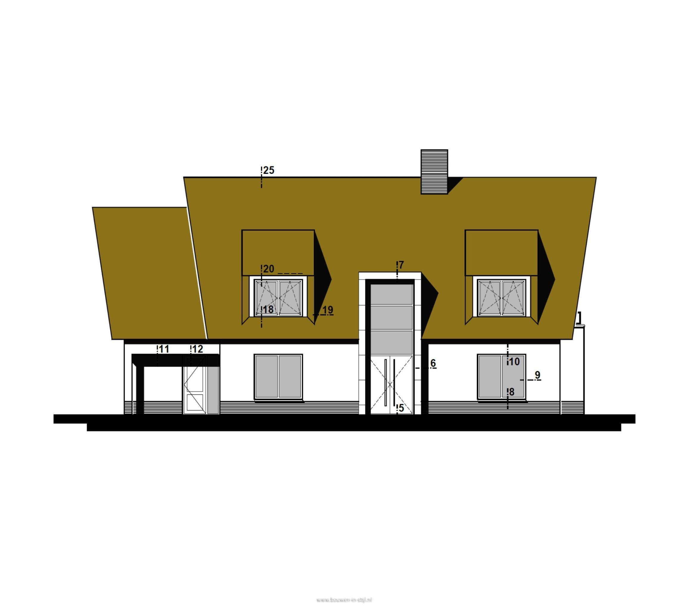 Nieuwbouw vrijstaand woonhuis te veenendaal hab for Bouwkavels gelderland vrijstaand