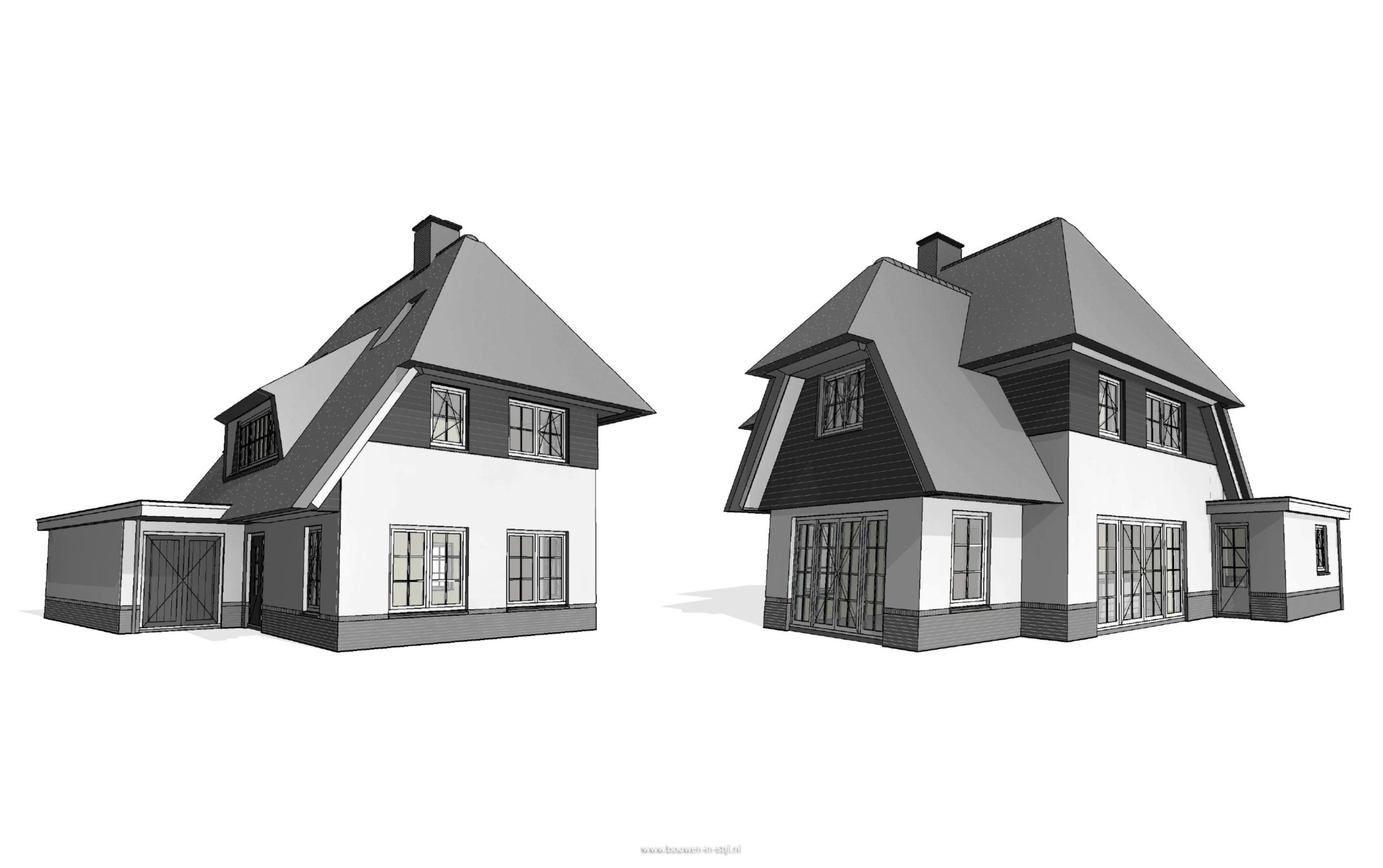 Nieuwbouw vrijstaande woning te leusden hab bouwen in for Bouwkavels gelderland vrijstaand
