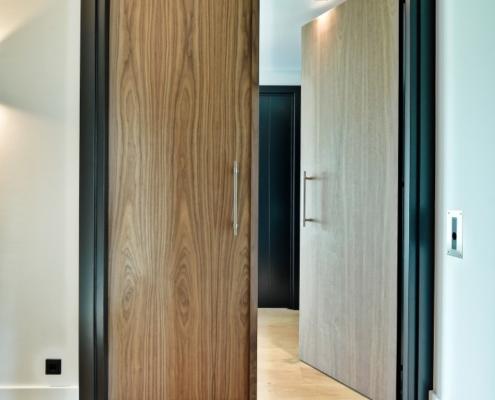 Rietgedekte villa met geweldig zicht over de Loosdrechtse Plassen - dubbele binnendeur