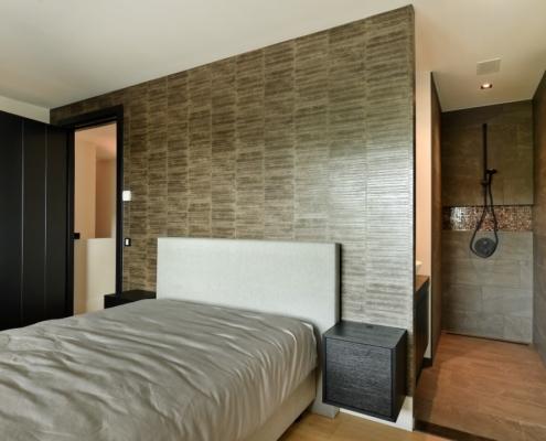 Rietgedekte villa met geweldig zicht over de Loosdrechtse Plassen - slaapkamer